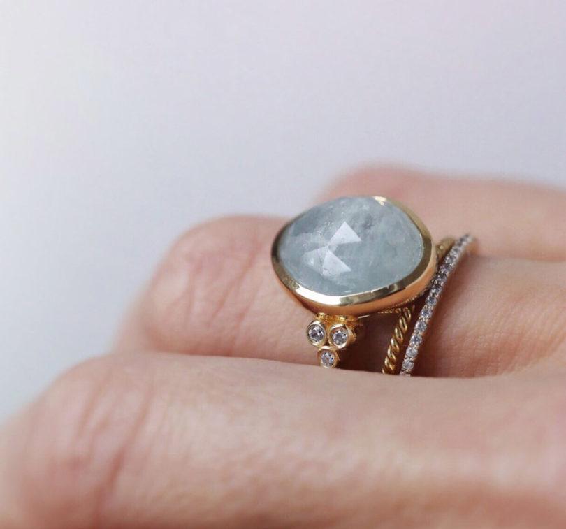 Pedra Aquamarine