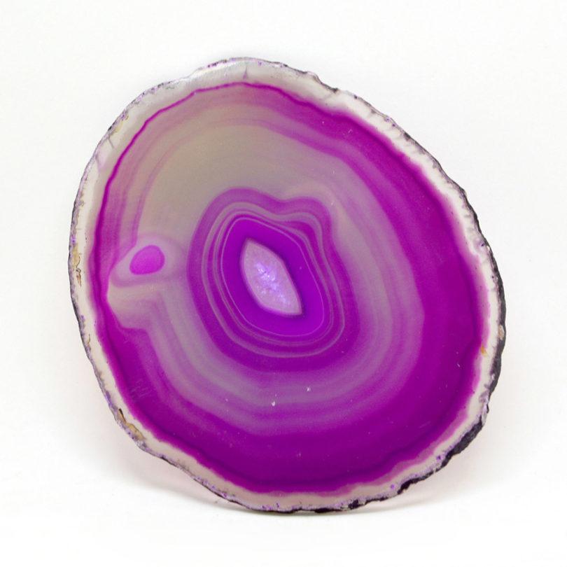 Pedra Ágata Rosa