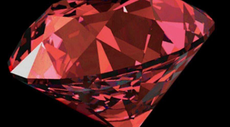 Diamante vermelho